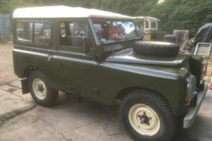 "LAND ROVER SERIES 3 88"" Pre Defender. Excellent Condition, Long MOT TAX Exempt"