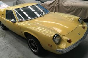 1972 Lotus Europa Twin Cam for restoration, may p/x