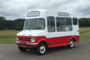 BEDFORD CF1 MORRISON ICE-CREAM VAN ** NEW BUSINESS / MOBILE CATERING OPPORTUNITY Photo