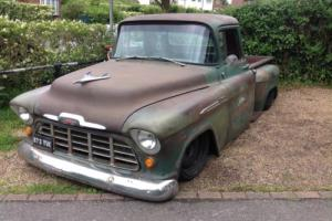 chevy pick up truck 1956 hotrod