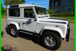 1988 Land Rover Defender Defender 90 D90 4x4 White Land Rover