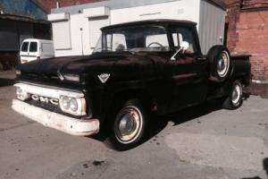 1962 gmc v6 truck hot rod project runs drives and stops well