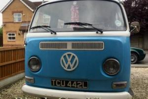 VW CAMPER VAN CLASSIC CAR TYPE 2 BUS LOW LIGHT LATE BAY TAX EXEMPT RHD 1971