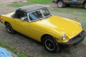 1980 MG MGB B Photo