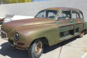 1948 Packard 22nd Station Sedan NO RESERVE