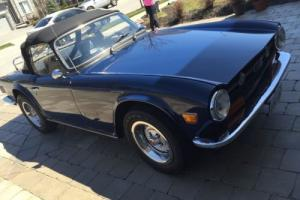 1973 Triumph TR-6 Convertible Photo