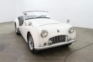 1956 Triumph TR3 Small Mouth Photo