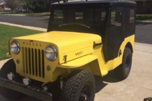 1959 Willys CJ3B