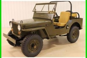 1947 Willys Overland CJ-2A