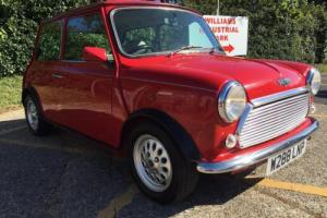 2000 Rover Mini 1275cc MPi. Gleaming Flame red. Balmoral trim. Only 49k