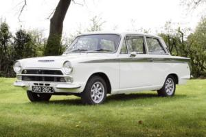 1965 Lotus Cortina Mk.I with Comp History Photo