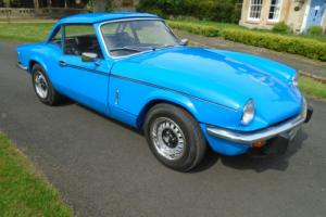 1981 TRIUMPH SPITFIRE 1500 'HARD AND SOFT TOPS'