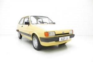 A Delightfully Charming and Pristine Ford Fiesta Mk2 1.1L with Just 40,679 Miles