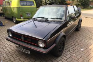 VW Golf MK1 GTI Convertible Cabriolet