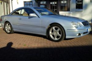 2001 MERCEDES CL500 Coupe * Full Spec * Heated Cooled Massaged seats * Full MOT*