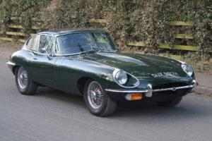 1970 JAGUAR E-TYPE SERIES II 4.2 FHC Photo