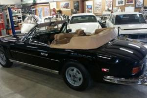 JENSEN INTERCEPTOR CONVERTIBLE 440 AUTO, WOOD DASH MODEL 1976