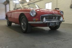 MGB Roadster 1964 Mk1 Pull Handle, Nut and Bolt Restoration,Bare Metal Respray Photo