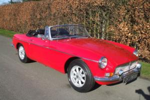 MGB Classic Car Photo