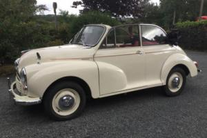 Morris Minor Convertible Original 1961