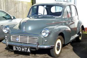 1961 Morris Minor 1000 4-Door Saloon