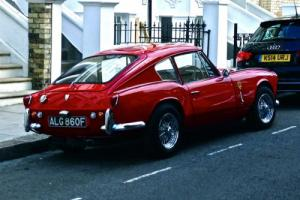 1967 TRIUMPH GT6 MK1 SPORTS COUPÉ E TYPE ROSSO RED TAX EXEMPT
