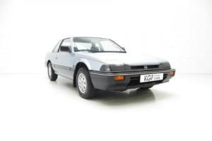A Sleek Honda Prelude Deluxe, Father and Son Owned with 42,171 Miles