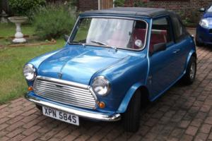 1978 LEYLAND CARS CLASSIC MINI 850 BLUE CONVERTIBLE COMPLETE REBUILD IN 2010