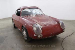 1959 Fiat Abarth 750 Double Bubble Zagato