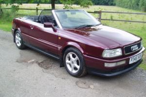 AUDI 80 CONVERTIBLE 1997 2.0 LTR Photo