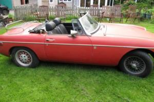 MGB 1974 ROADSTER LHD CALIFORNIAN IMPORT UNBELIEVABLY RUSTFREE