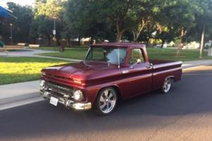 1965 Chevrolet C-10 20' intros, lowered, shop truck, patina c10