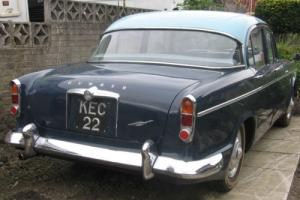 humber super snipe 1962, 46k unrestored fsh