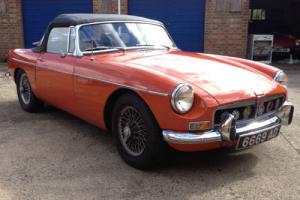 1973 MGB Roadster Historic Classic Car Photo