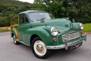 **Stunning 1966 MORRIS MINOR Traveller, fresh WRCC refurbishment, excellent!