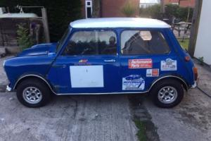 Morris mini cooper mk2, BARN FIND ex race/hillclimb car, stored for past few ye