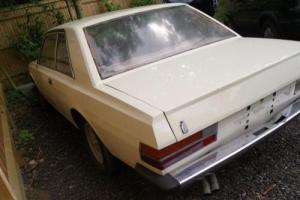 Barnfind 70s Fiat 130 coupe 5spd