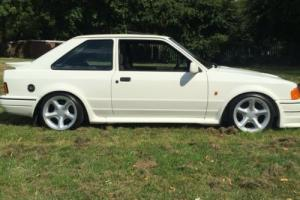 rs turbo/escort/cosworth/low owners