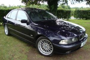 BMW 540 4.4i AUTO AUTOMATIC i Orient Blue Metalic V8 5 series