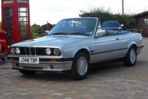 BMW 318i 1.8 Convertible/cabriolet 1991