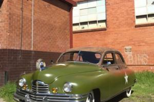 1948 Packard Straight 8 Touring Sedan Rare Factory RHD Aust Delivered in VIC