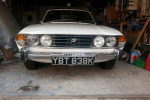 TRIUMPH STAG MK1 MOD 1972 Original V8 Photo