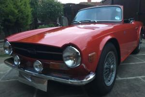 TRIUMPH TR6 , 1969, GENUINE UK CAR ,150 BHP, BEAUTIFUL BRITISH CLASSIC Photo