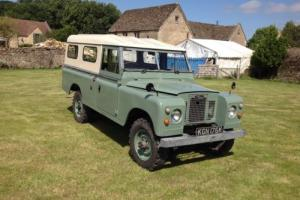 LAND ROVER SERIES 2A 1971 TAX EXEMPT LPG PETROL