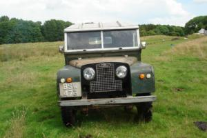 "LAND ROVER 88"" - SERIES ONE - 1957 - 4 CYL GREEN '2 1/4' DIESEL"