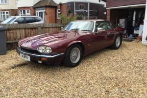 1993 JAGUAR XJ-S 4.0 AUTO RED VERY CLEAN FOR A XJS LOOK MAY PX EBAY RULES