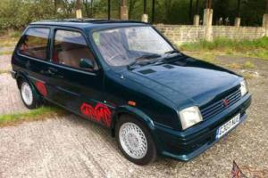 1989 MG METRO TURBO GREEN BARN FIND COLLECTORS CAR PROJECT 40k SOLID