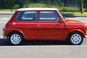 1990 ROVER MINI COOPER RSP FLAME RED ONLY 42K