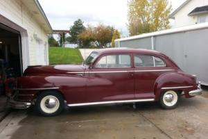 1948 Chrysler Royal Tudor Sedan