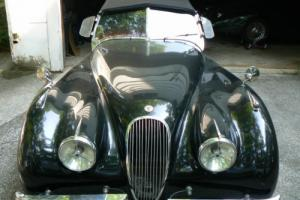 1950 Jaguar XK 120 Nice, Easy, Project Photo